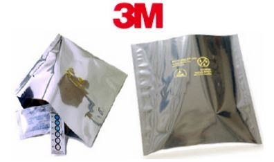 "10x12"" 3M Dri-Shield Open Top Moisture Barrier Bags"
