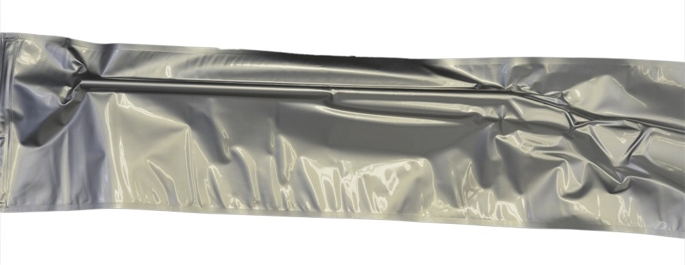 "12x52"" Aluminized Moisture Barrier & Static Shielding Zipper Bags"